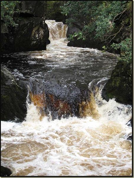 On the Ingleton Waterfall Walk near Beezley Falls
