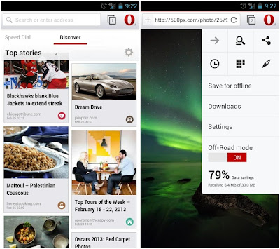 Opera Browser Beta su Android