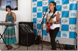 La Municipalidad de Coronel Suárez propició un espacio musical a través de la cantante Natalia Simoncini