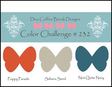 DCBD 232, Color Challenge, Created by You, Sharon Field, Challenge, Design Team, Divas