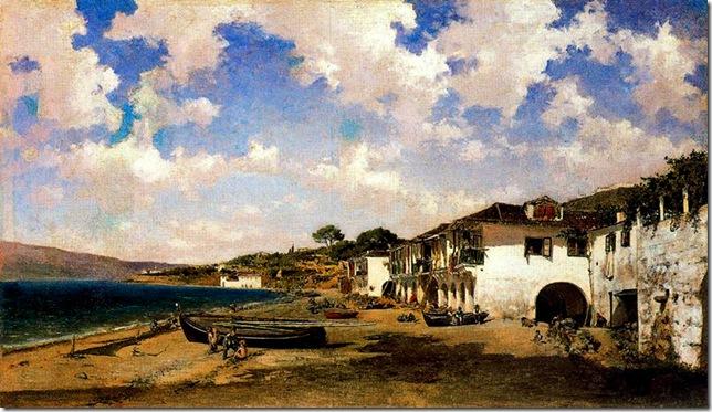 Aureliano de Beruete y Moret - la rivera de Vigo