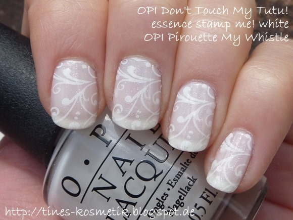 OPI Dont Touch My Tutu Stamping 3