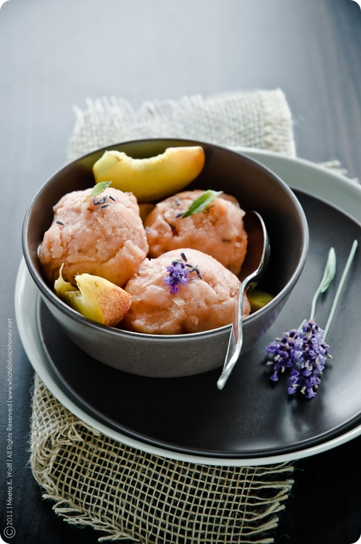 Peach and Lavender Sorbet (0002) by Meeta K. Wolff
