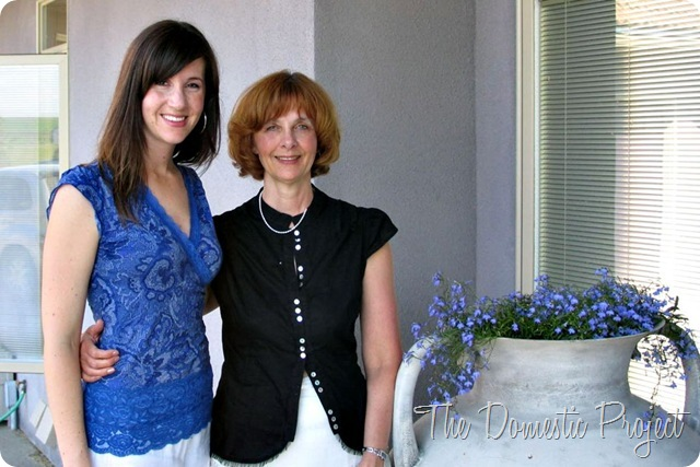 69b94754fb Mom and I at my wedding shower 6+ years ago. Because we both looked rockin