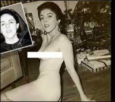 OBAMA Barack mother StanleyAnnDunham posed nude at young age
