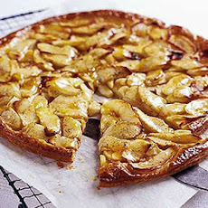 Flat Apple & Vanilla Tart