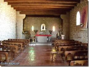 Interiro de la Ermita de Arnostegui - Obanos