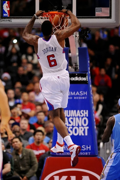 Wearing Brons DeAndre Jordan Back to Nike with SOLDIER 7 x5