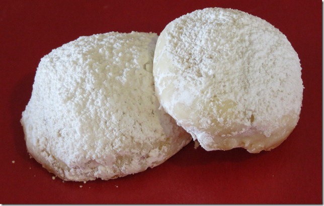 Peppermint Snowball Cookies 3