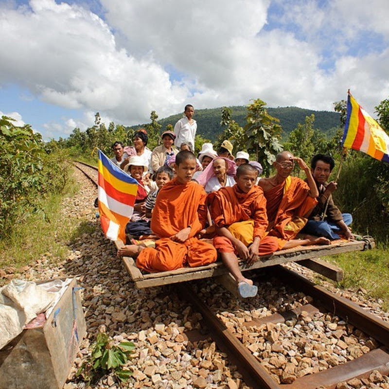 Bamboo Trains of Cambodia