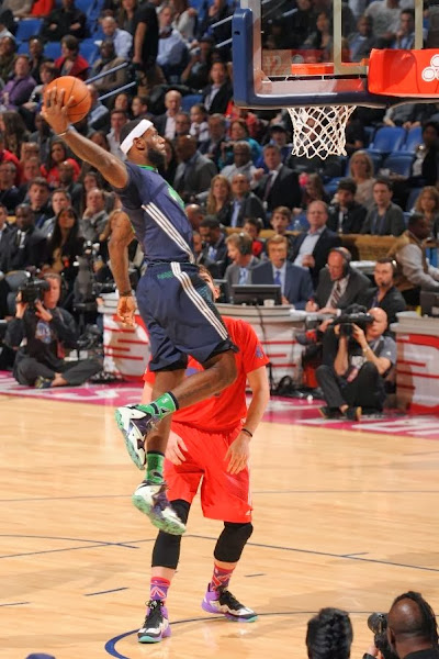 lebron james nba 140216 all star new orleans 08 game Gallery: LBJ Wears Gator King LeBron 11 in 2014 NBA All Star Game