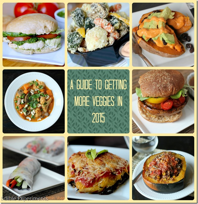 A Guide to Getting More Veggies in 2015