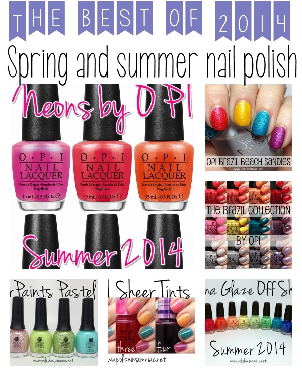 Top 10 Polishes for Spring and Summer