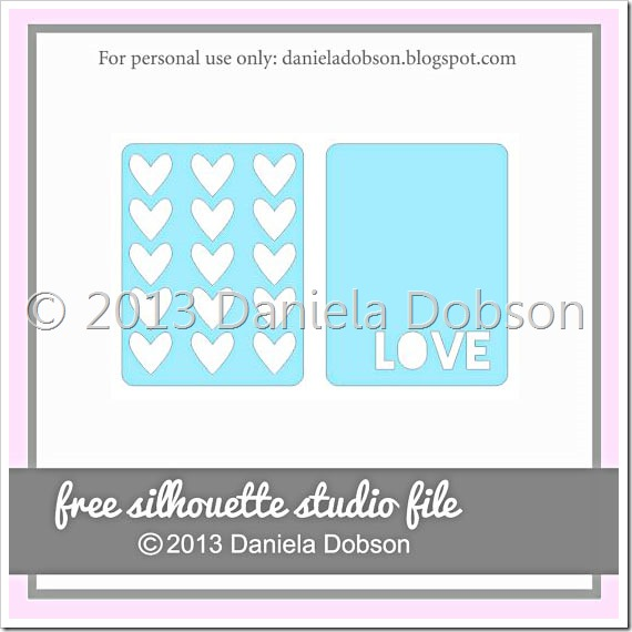 Love cards by Daniela Dobson