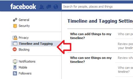 ตั้งค่าตรวจสอบการ Tag ใน facebook