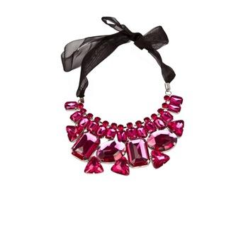 colien eden colier cu cristale roz