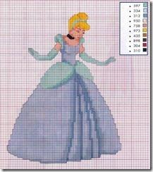 aurora,Princesas Disney em ponto de cruz,disney para bordar,bordados disney