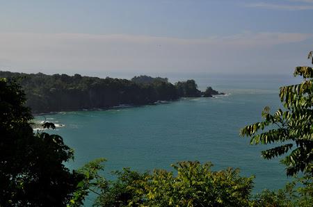 Obiective turistice Costa Rica: Loc de belvedere in Parcul National Manuel Antonio