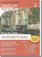 Débat politique du 1er juin 2012