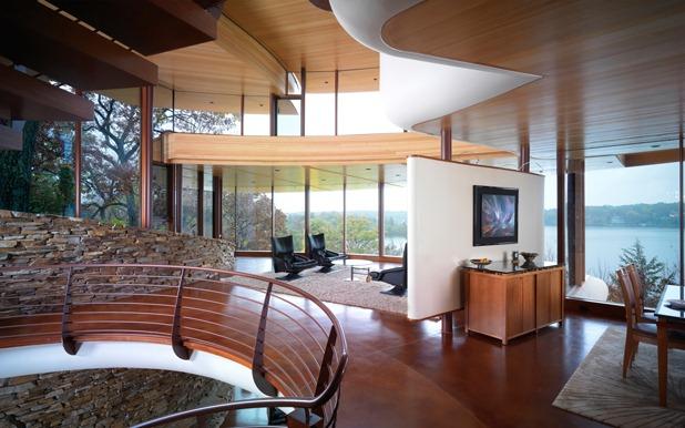 chenequa residence by robert harvey oshatz architect 8