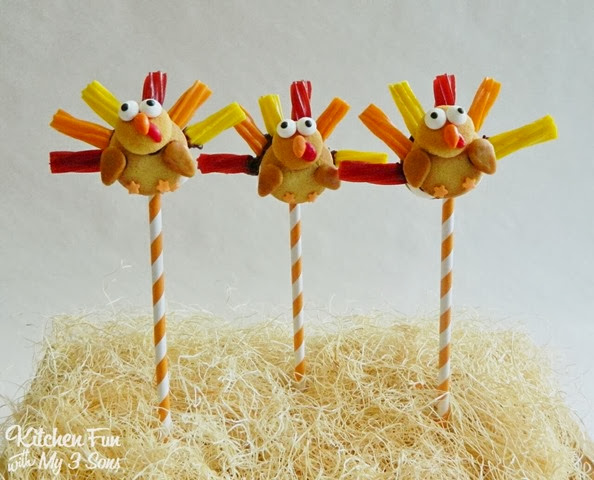 Turkey Cookie Candy Pops 1_PM