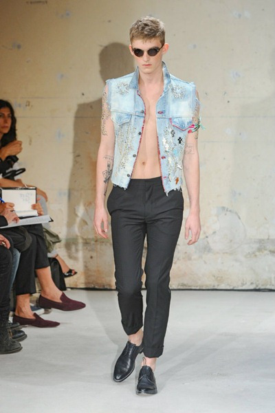 Paris Fashion Week Primavera 2012 - Christian Lacroix Homme