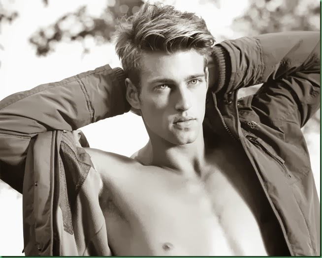 Heath Hutchins for Abercrombie & Fitch