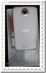 HTC ONE X Rückseite