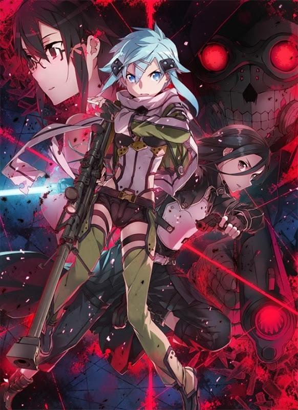 Sword-Art-Online-2-Sword-Art-Online-II-Shino-Sinon-Sinonon-Hecate-Asada-Kazuto-Kirito-The-Black-Swordsman-Beater-Kirigaya