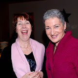 having a laugh - Peggy Hession and Maura Mc Moreland