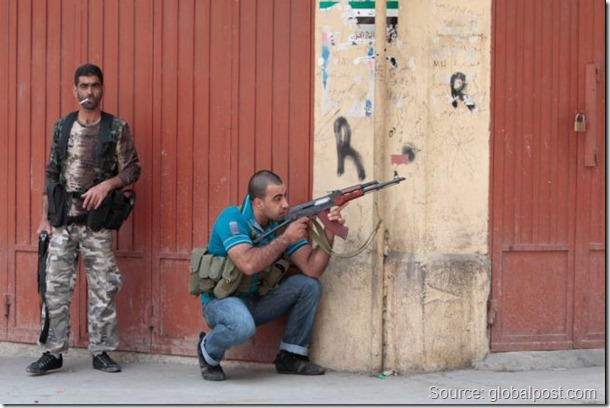 Armed Men Tripoli