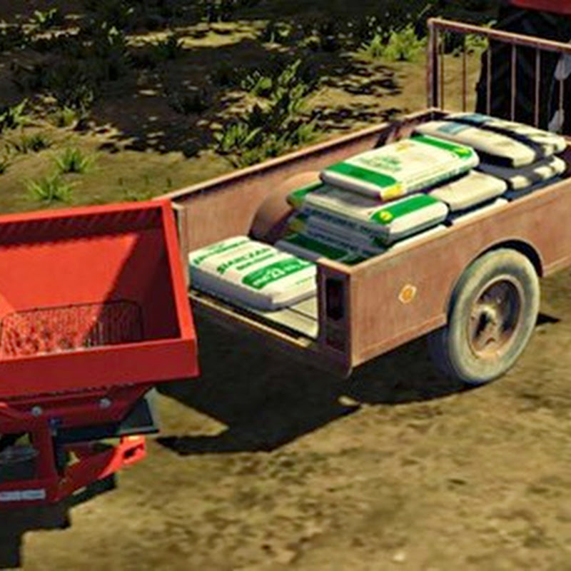 Farming simulator 2013 - Small seeds and fertilizer trailer v 1.0.0