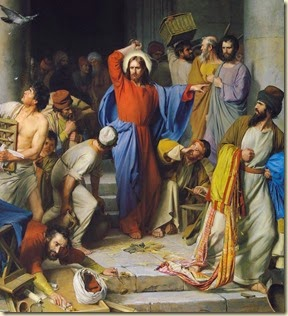 Carl Bloch . jesus-christ-cleansing-the-temple