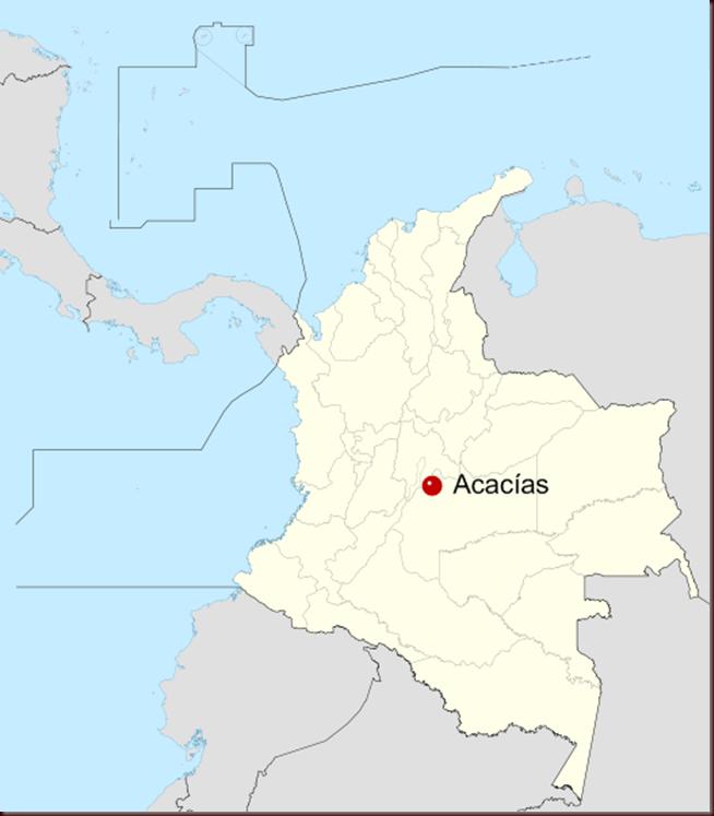 Acacías_Colombia_location_map