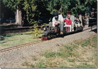 15 Pacific Northwest Live Steamers in 1998