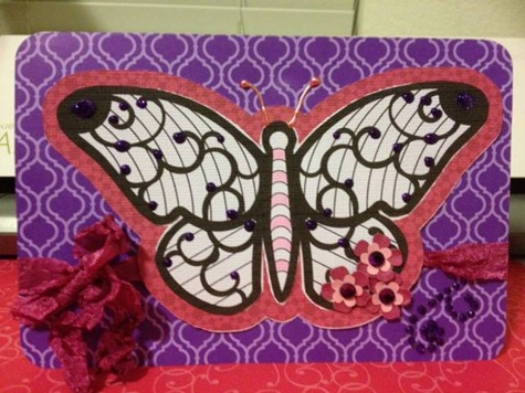 butterfly card-xochitl