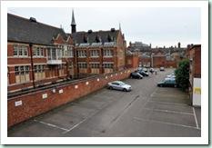 jason Senior / Grey Friars Car Park on New Street Leicester .