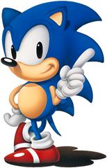 Primeiro modelo de Sonic