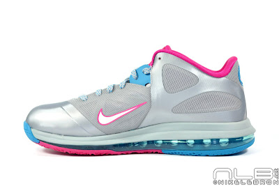 lebron9 low fireberry 02 web white The Showcase: Nike LeBron 9 Low WBF London Fireberry