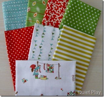 Child's Play bundle from Fresh Squeezed Fabrics