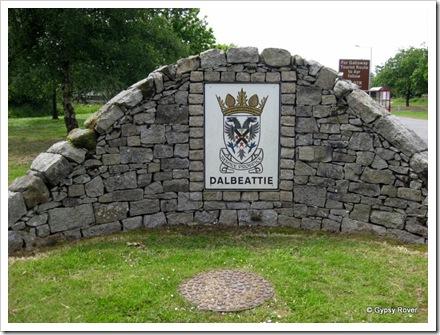Welcome to Dalbeattie, Scotland.