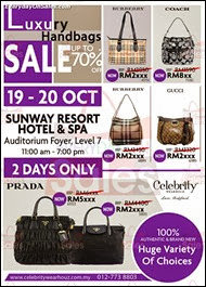 Celebrity WearHouz Luxury Handbag Warehouse Sale Event 2013 Malaysia Deals Offer Shopping EverydayOnSales