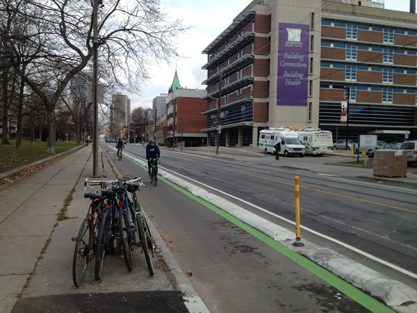 Sherbourne Cycle Track - Toronto