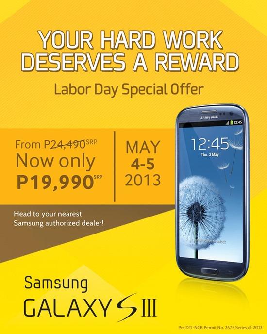 Samsung GS3 Sale