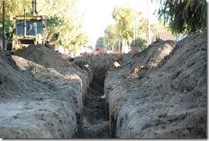 Continúan las obras de extensión de servicios públicos en La Costa