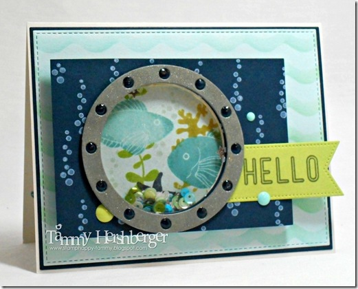 Catered Crop Shaker Card by Tammy Hershberger