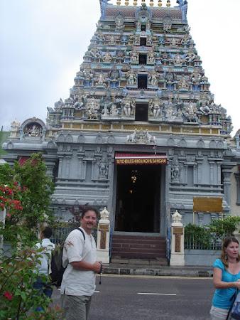 Templul indian din Victoria Seychelles
