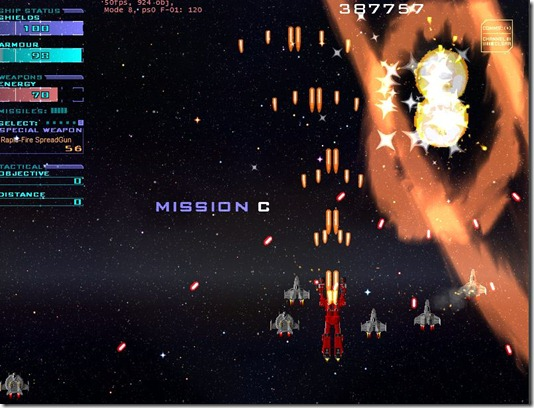 Star Fleet X bomber freeware game (5)