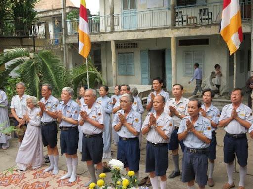 Ban Hướng Dẫn Trung Ương GĐPTVN tham dự húy nhật Cố Hòa Thượng Thích Trí Thủ