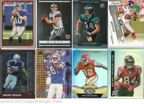 'FOOTBALL SPORTS CARDS' photo (c) 2012, supportcaringllc - license: http://creativecommons.org/licenses/by-sa/2.0/